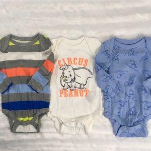 Baby Gap+Disney Dumbo Collection Long Sleeve